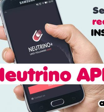 Neutrino App Instagram