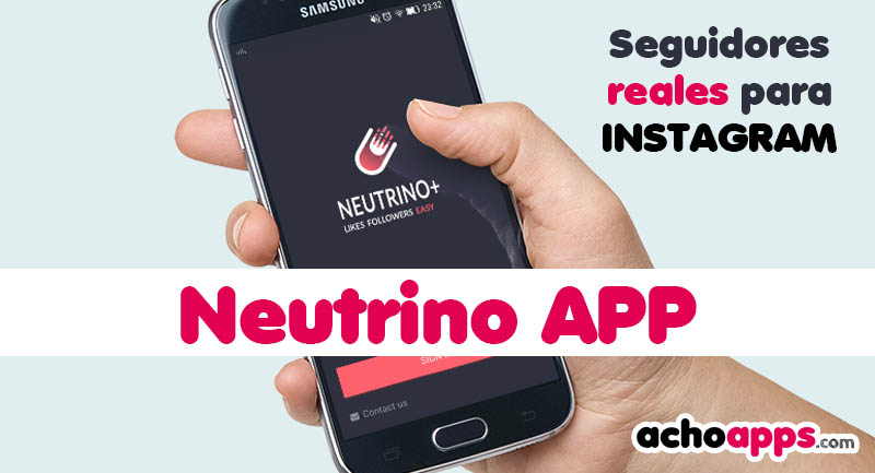 Neutrino App Instagram