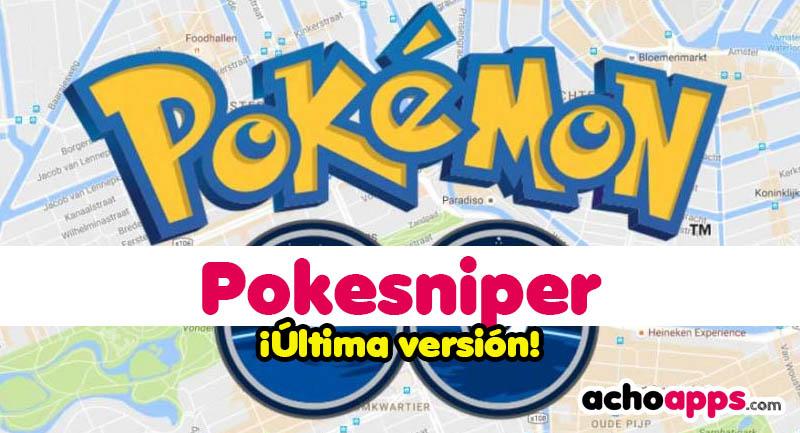 Pokesniper APK Última versión 🥇 ¡Caza Pokemons desde casa!