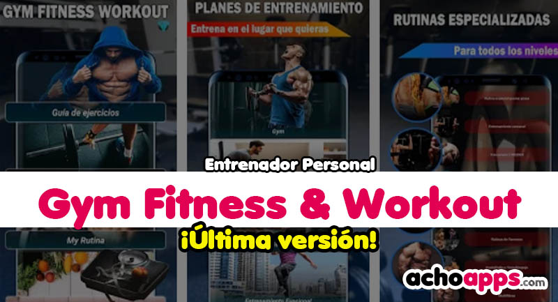 Gym Fitness & Workout Entrenador Personal
