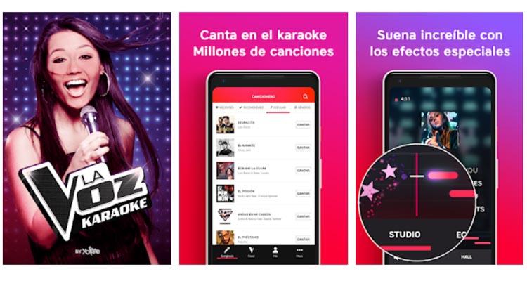 Karaoke De La VOZ