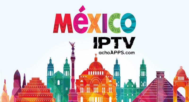 Listas Mexico M3u
