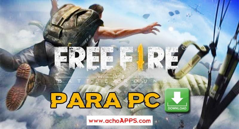 Cómo descargar Free Fire para PC 🥇 ¡Archivos GRATIS!