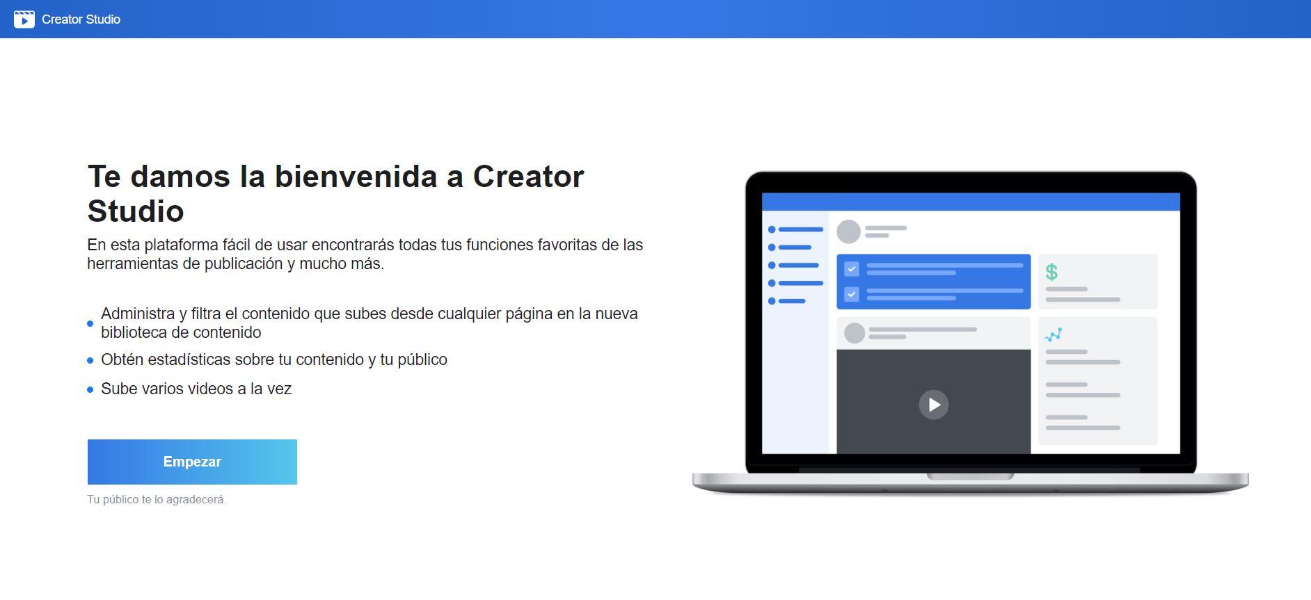 Creator Studio Facebook Instagram