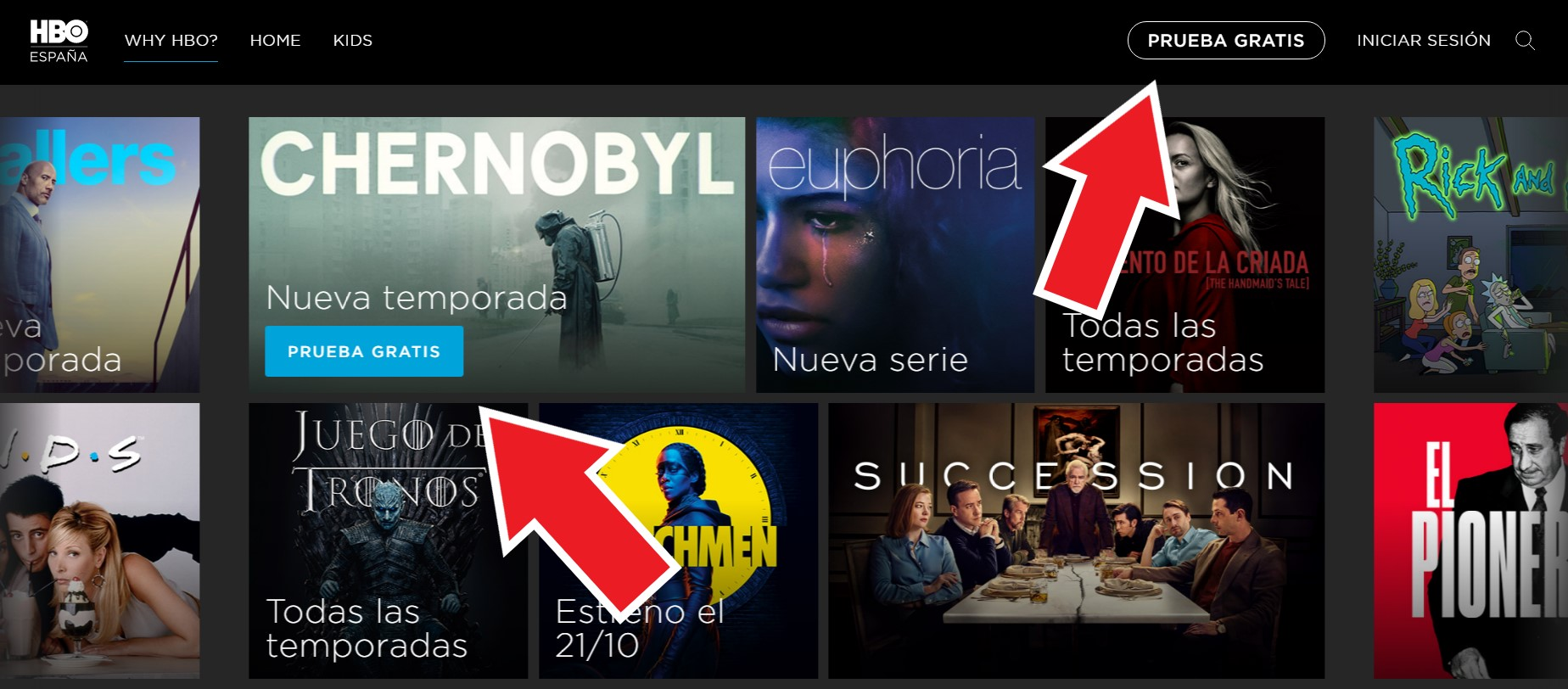 HBO Prueba Gratis