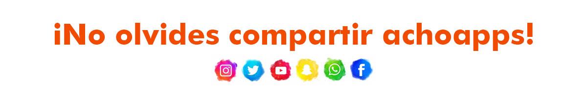 Compartir Achoapps