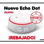 Amazon Alexa Echo Dot Con Reloj
