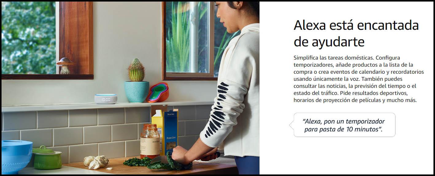 Comprar Alexa Echo Dot