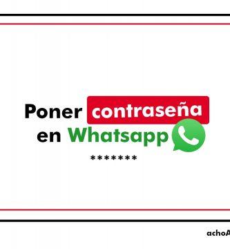 Poner Contraseña Whatsapp