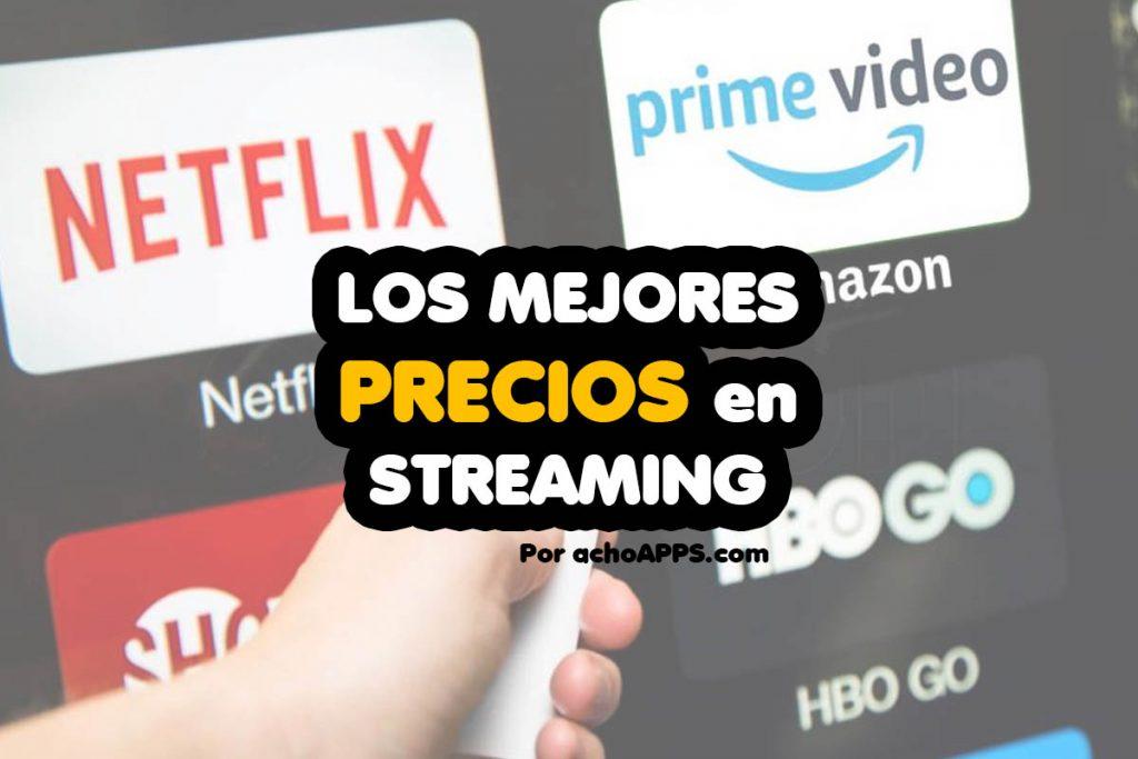 Precios De Las Plataformas De Streaming Por Internet
