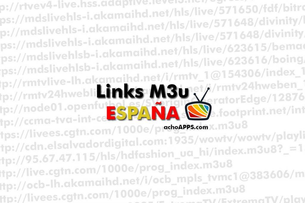 Links M3u España