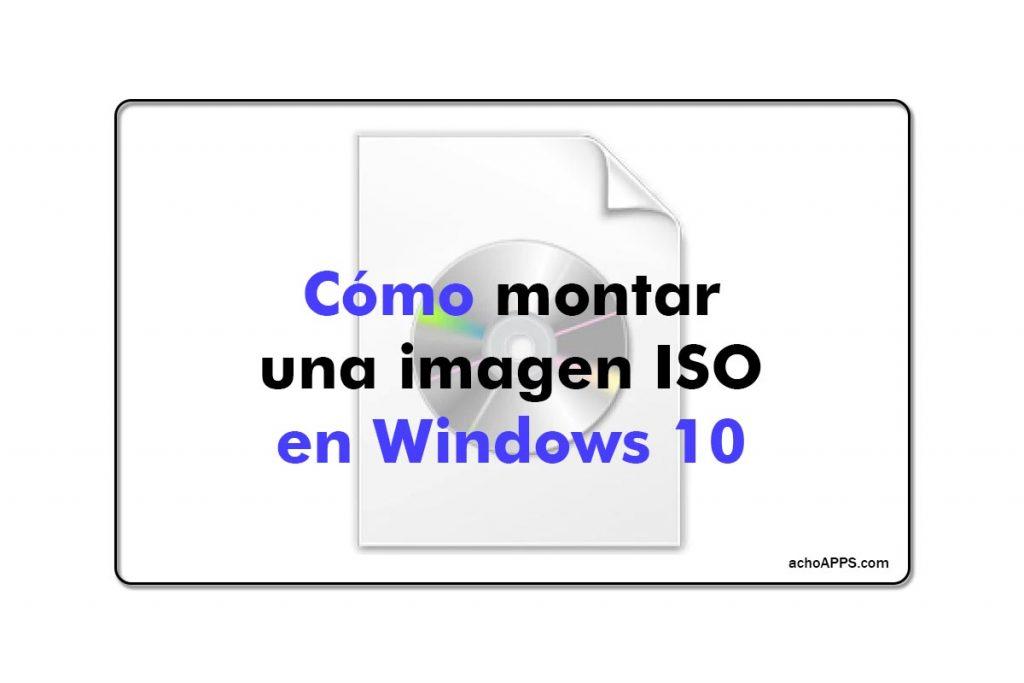 Daemon Tools Como Montar Una Imagen ISO En Windows 10