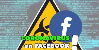 Facebook CONTRA Coronavirus