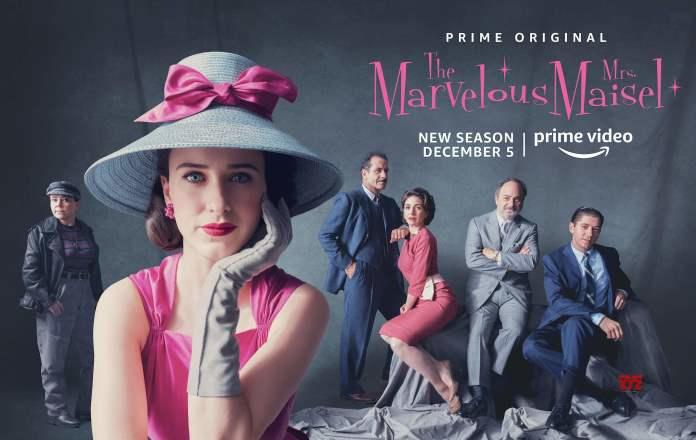 Amazon Prime Series Marvelous Mrs. Maisel