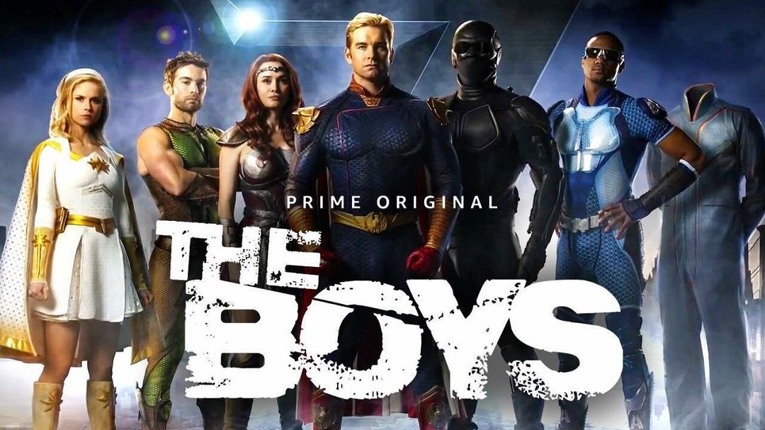 Mejor Serie Amazon Prime Video The Boys