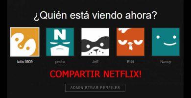 Como Compartir Netflix